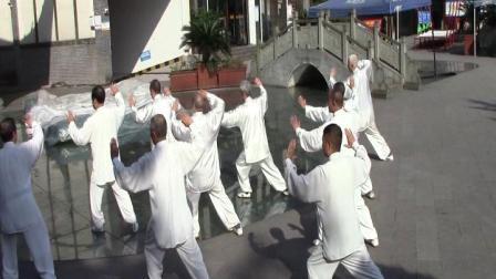 赤水市文化太极队庆祝2021年劳动节世界太极拳月展示活动