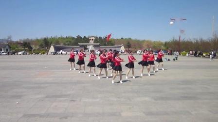 北镇市秧歌舞蹈协会梨花节文艺汇演《中北村广场舞队》2制作-东明2021.4.25
