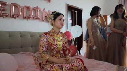 鄢乐麻小月结婚了