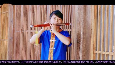 双管巴乌 偏偏喜欢你 - G调 双管巴乌演奏 葫芦丝教学