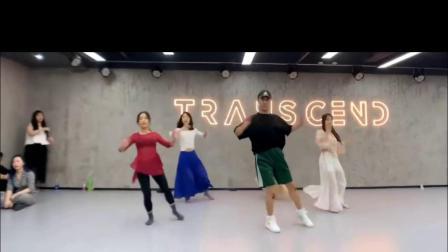 燕无歇 中国风爵士编舞 练习室 白小白