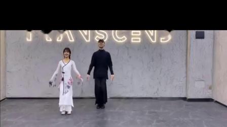 燕无歇 中国风爵士双人版编舞 练习室 白小白