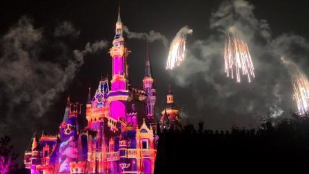 上海迪士尼烟花表演2