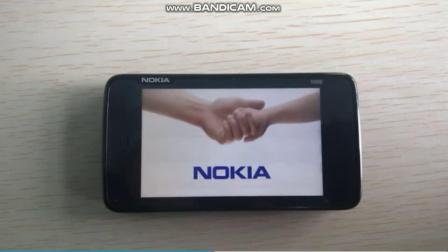 诺基亚N900开机动画