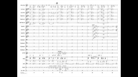 【爵士練習】大樂隊:HLJn.g3 - Time After Time (Cyndi Lauper/arr. Paul Murtha)