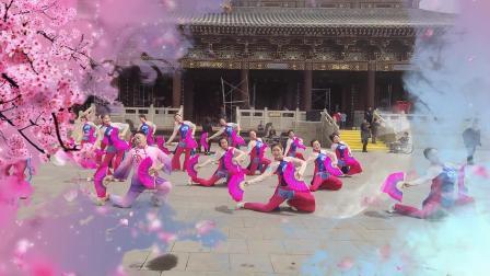 高平市文化馆舞蹈团走进炎帝陵文艺演出