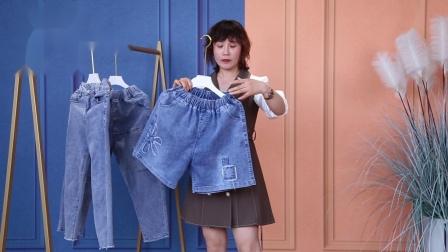 5.5玲家衣舍厂价销售单款牛仔裤裙