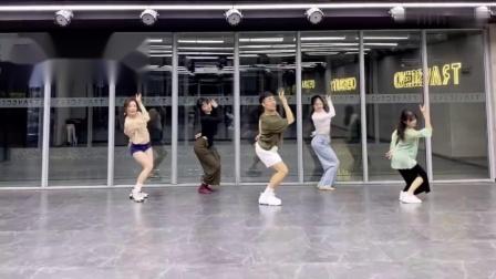 红马 中国风爵士完整版编舞 练习室 白小白