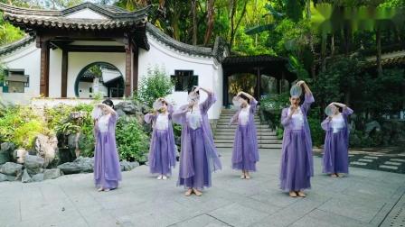 古色古香的舞蹈《浪漫》,纤纤女子 扇舞翩翩 _ 派澜古典舞