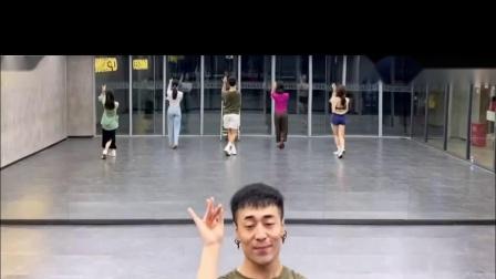红马 中国风爵士编舞 镜面练习室 白小白