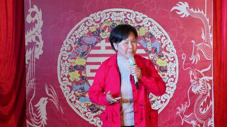 邙岭镇文艺团队石娟娥女士在王思博先生和王梦莹女士结婚典礼上演唱我和我的祖国