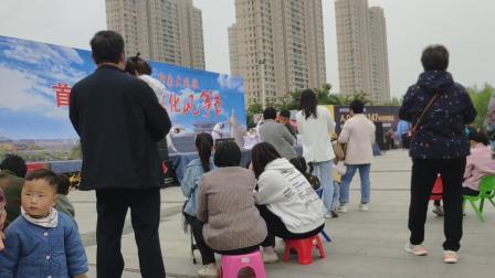 沛县汉文化风筝节大风歌广场上男男女女老老少少。。。