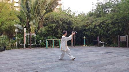 太极拳竞赛套路28式@一配乐:我和我的祖国