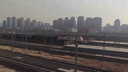 1461次列车进天津西站(20210103)