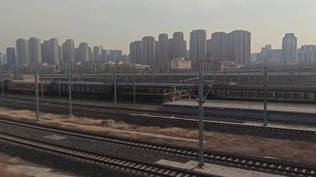 K102次列车天津西站发车(20210103)