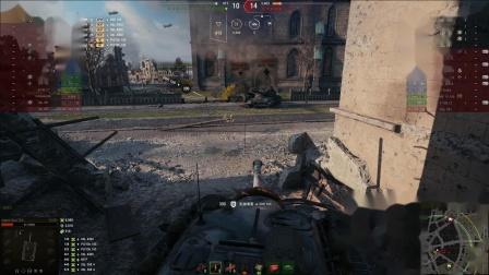 坦克世界 E3大哥极限1V5与150大管子莱茵冲出江湖