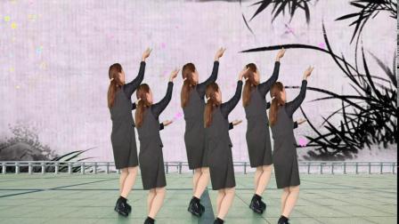 经典广场舞《一首醉人的歌》舞步新颖,时尚好看,魅力无限