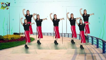 经典老歌《敖包情》,带劲的旋律,动感的舞步