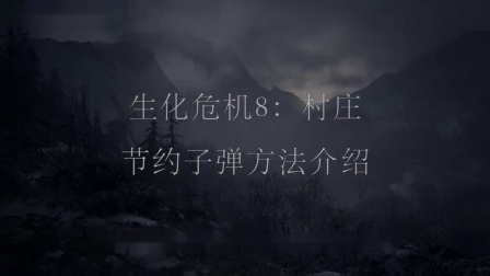 【游侠攻略组原创】《生化危机8村庄》节约子弹方法介绍