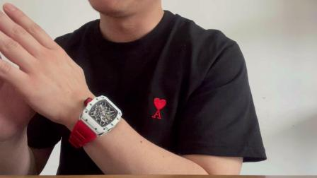 【腕表小评测】理查德米勒 RM35-01 白碳