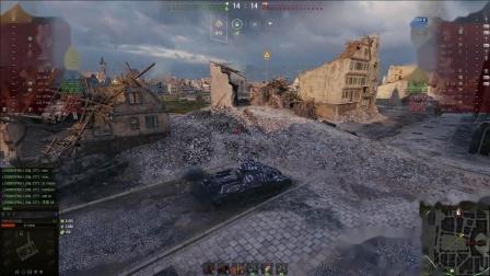 坦克世界 血战三环老兵-7与喷子五重万伤回归