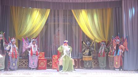 3.《传统古典秦腔戏(金沙滩)》由陕西东岭文化艺术中心演出