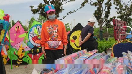 筝舞龙飞地印象大风歌首届沛县汉文化风筝节风筝西施谁可以摘下她的口罩