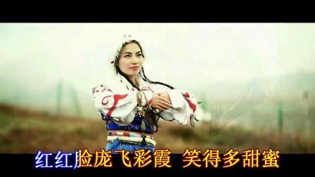 美丽的姑娘我爱你》扎西多吉伴奏版01
