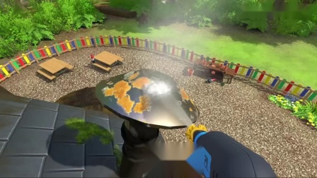 《高压水枪模拟器》游戏宣传片