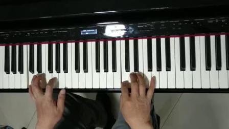 教学视频《彩云追月》李明生老师示范弹奏