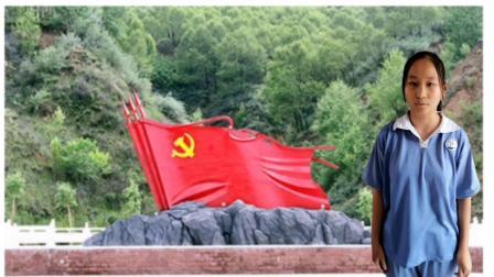 烈士碧血红旗——801班演讲