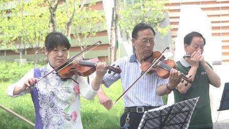 5.社区文化活动《琴韵悠扬乐器合奏》女儿惰