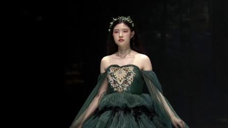 钜星国际品牌时装盛典高定原创礼服品牌凝奈映