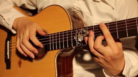 冯浩海指弹改编《红色高跟鞋》楚门吉他TF800 地球