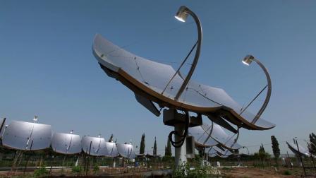 以色列的沙漠太阳能发电厂