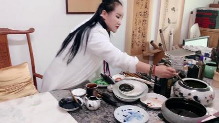 浙江金华80后女风水师王愈心,种生基是技能,画画是艺术.MP4