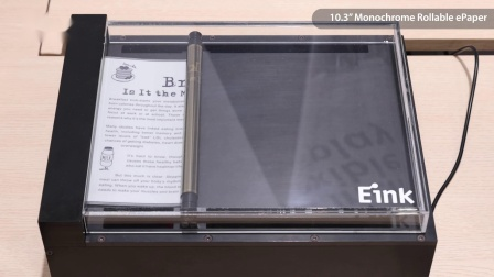 Foldable and Rollable ePaper