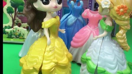 贝尔偏心白雪,长发公主不乐意了!