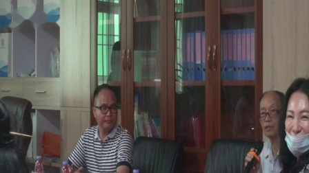 吳安平博士蒞臨惠州校園安全教育協會公益講座