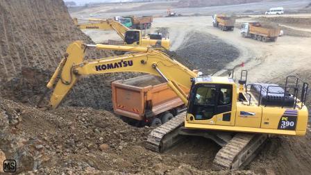 小松PC390挖掘机第二部分
