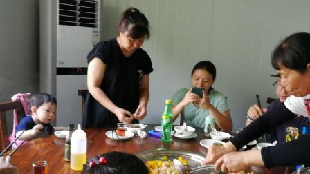 20210516阖家江门河山共享桑拿鸡宴