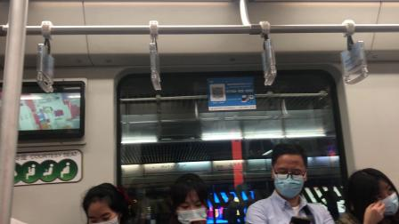 😷上海地铁1号线103号车富锦路方向伪八二世
