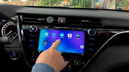 安卓云盒Y3实车演示视频原厂屏百度CarLife转安卓系统高德AR实景导航