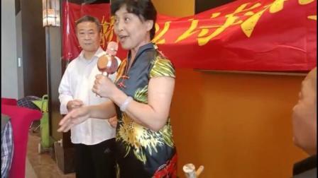 刘天华老师和陈玉华老师演唱京剧《红灯记》唱段