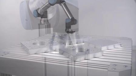 通用机器人安装板,为机器人提供稳固底座