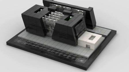 超级赞的迷你建筑MOC又来了,零件妙用无穷啊