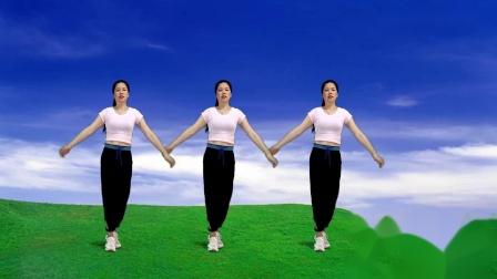 燃脂健身操,简单实用的瘦身减肥操《烟雨人间dj》~