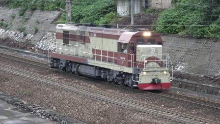 [火车] 单机回送 [52012]DF7G-5151 通过 广铁长沙地区 树木岭上行