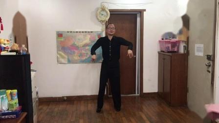 王雄老师示范教学网红舞(来跳舞)正反两面(讲解)