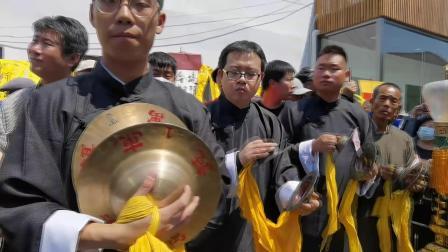 迎接建党100周年暨堤头庆云高跷老会設摆庆典